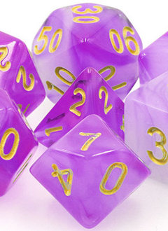 TMG Mana Miasma 16mm 7pcs RPG Dice Set