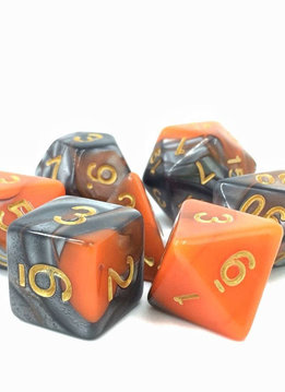 TMG Waylander's Forge 16mm 7pcs RPG Dice Set