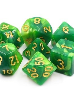 TMG Lich's Aura 16mm 7pcs RPG Dice Set