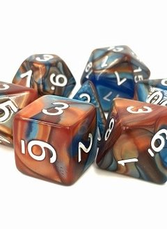 TMG Scrying Stone 16mm 7pcs RPG Dice Set