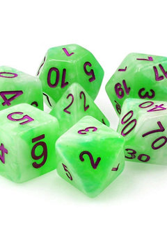 TMG Sylvan Glade 16mm 7pcs RPG Dice Set