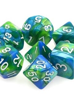 TMG Siren's Call 16mm 7pcs RPG Dice Set