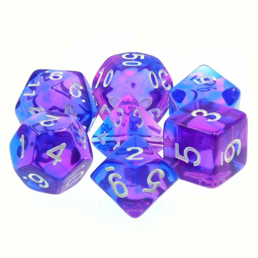 TMG Poetic Doom 16mm 7pcs RPG Dice Set