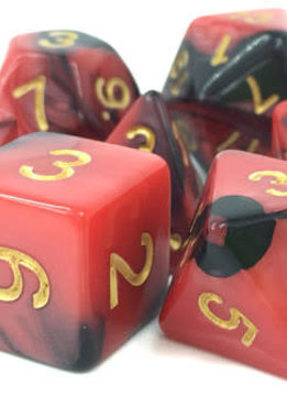 TMG Blood Pact 16mm 7pcs RPG Dice Set