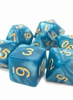TMG Sleepy Sky 16mm 7pcs RPG Dice Set