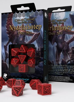 COC The Outer Gods Nyarlathotep Dice Set 7 Pc
