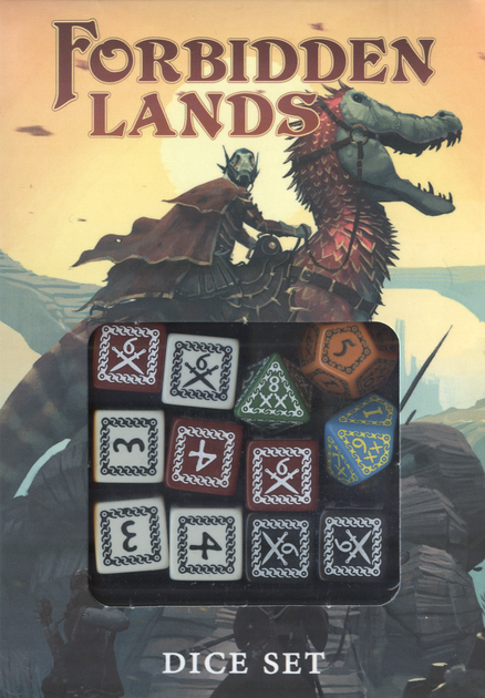Forbidden Lands Custom Dice