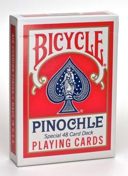 Bicycle Pinochle Standard Index