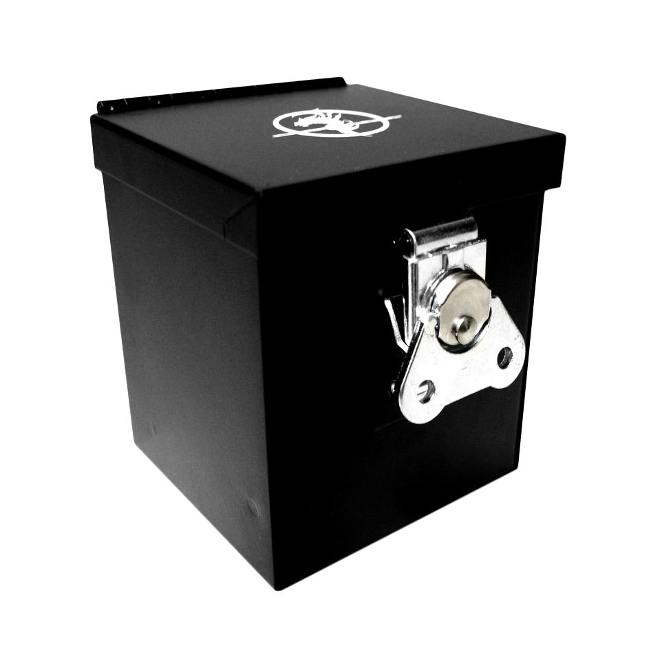Deck Box: Steel Commander 110Ct Black