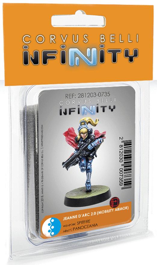 Infinity: Panoceania Jeanne D'arc (Mobility Armor / Spitfire)