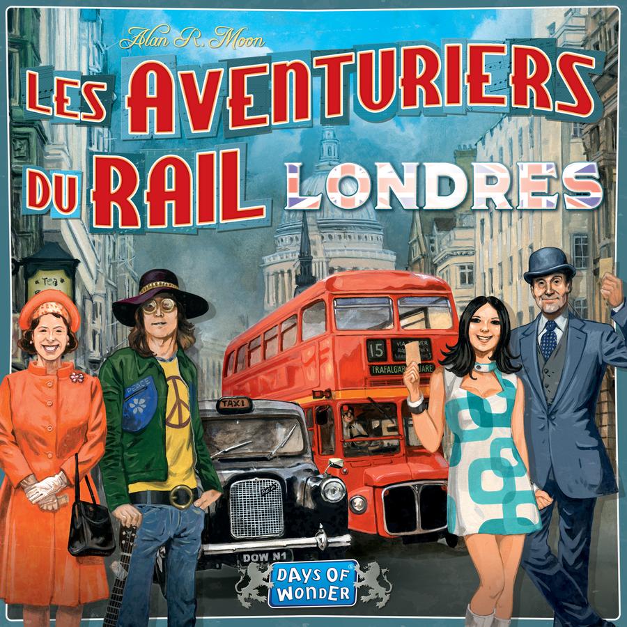 Les Aventuriers du Rail: Londre