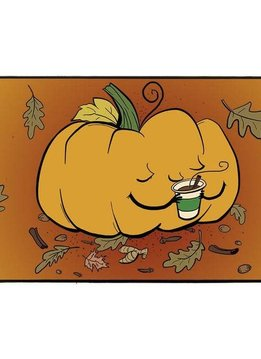 Legion Playmat Pumpkin Spice