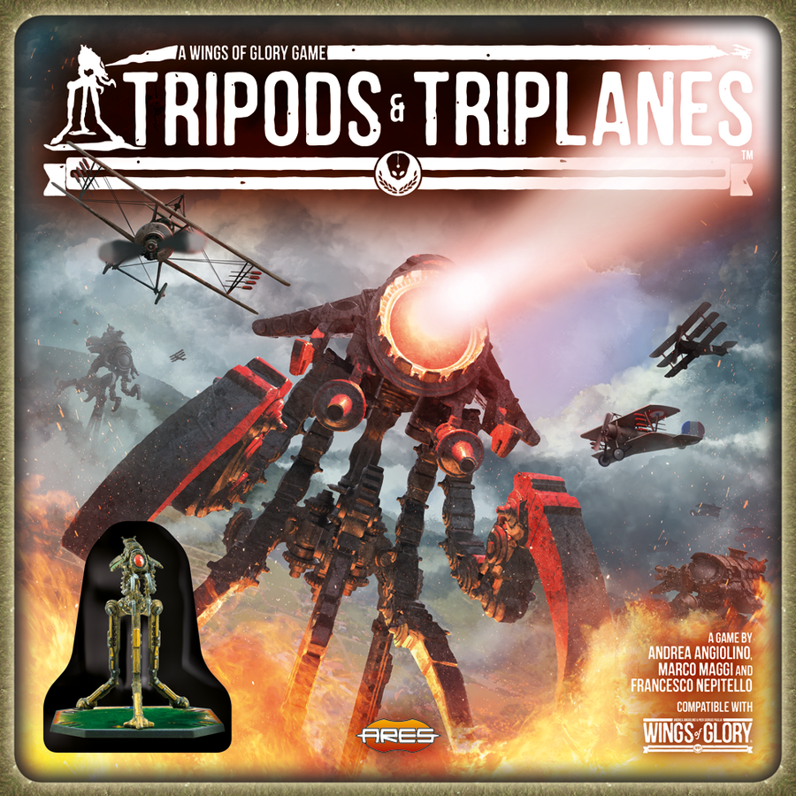Wings of Glory: Tripods and Triplanes