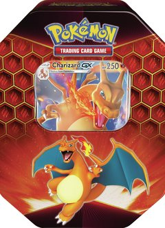 Pokemon Charizard Hidden Fates Tin