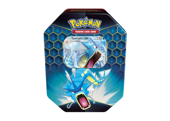Pokemon Gyarados Hidden Fates Tin