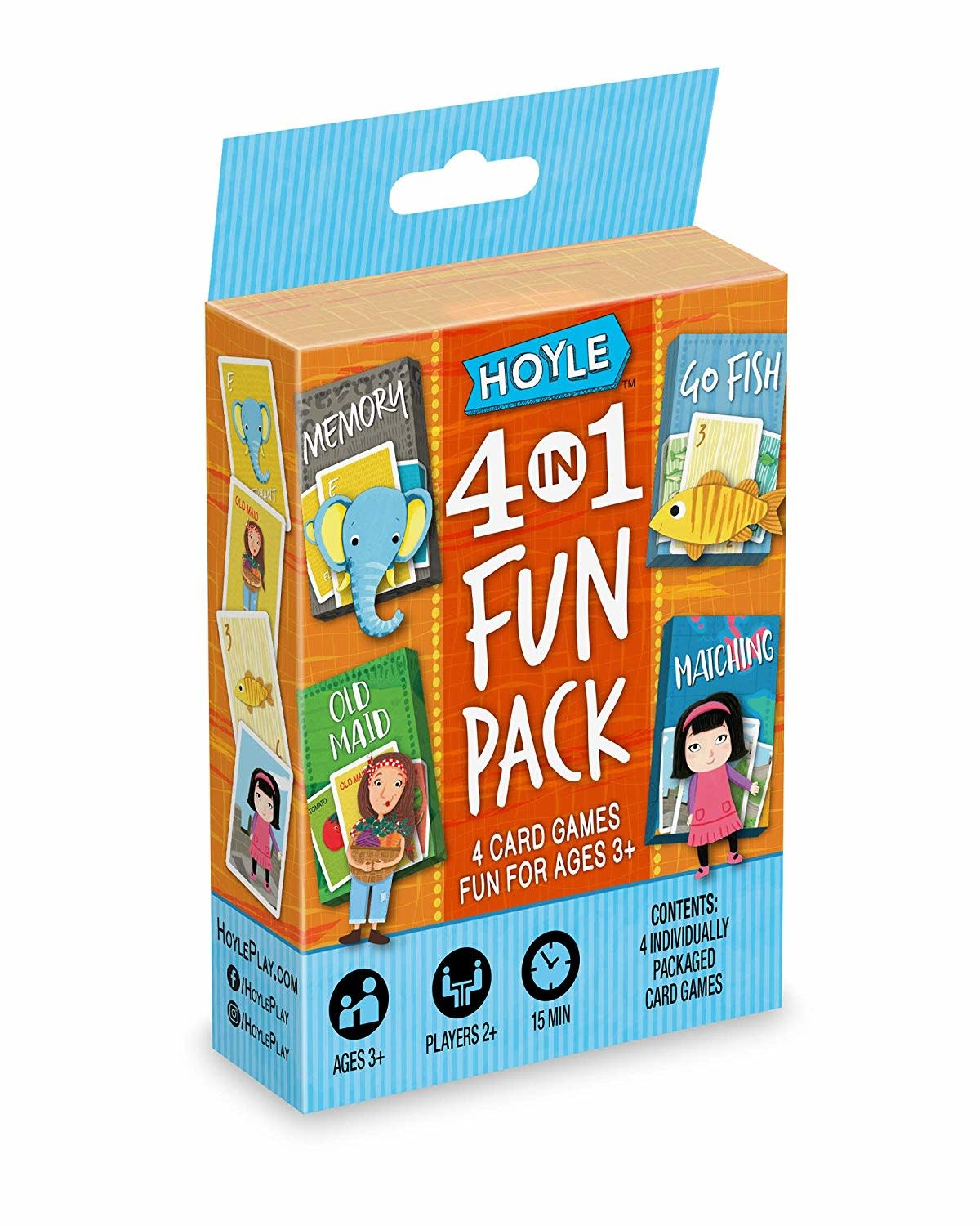 Hoyle 4-in-1 Fun Pack (Multi)
