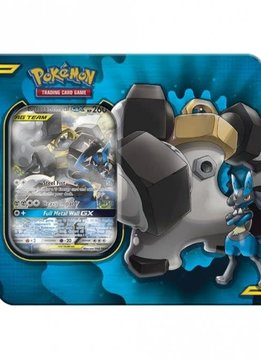 Pokemon Lucario & Melmetal Power Partnership Tin