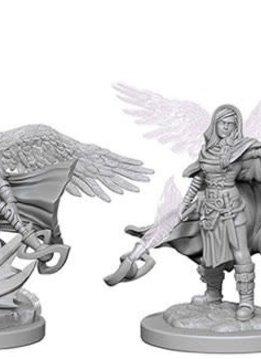 D&D Unpainted Minis: Aasimar Female Wizard