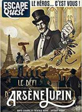 Escape Quest 4: Le Défi d'Arsène Lupin
