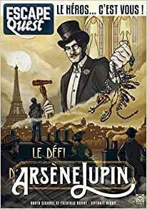 Escape Quest : Le Défi d'Arsene Lupin