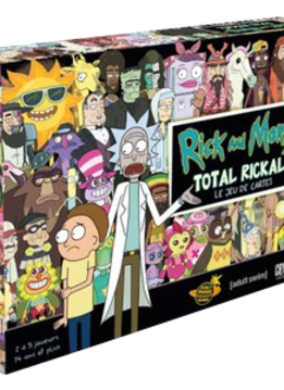 Rick and Morty Total Rickall Le Jeu de cartes FR