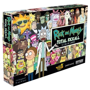 Rick and Morty Total Rickall Le Jeu de cartes (FR)