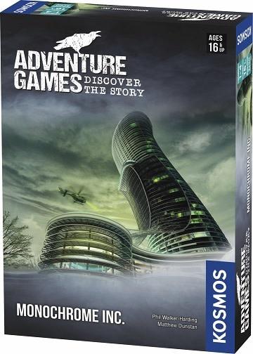 Adventure Games : Monochrome Inc