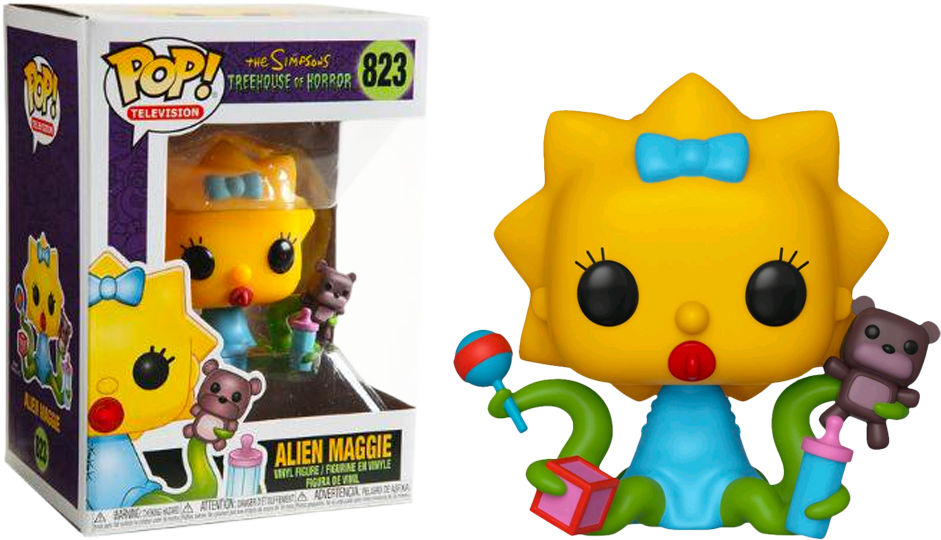 Pop! Simpsons Alien Maggie