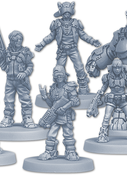 Zombicide Invader: Orphans Gang Survivors Pack