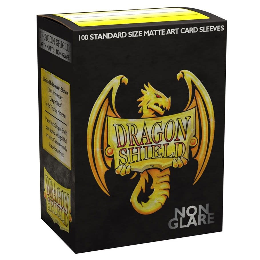 DRAGON SHIELD SLEEVES MATTE 20TH ANNIVERSARY 100CT