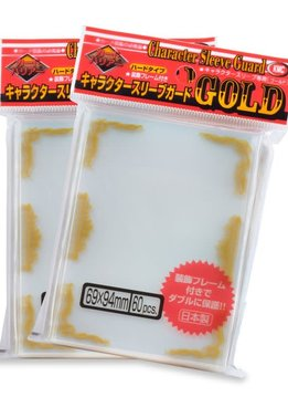 KMC Character Guard Gold Sleeves 60ct
