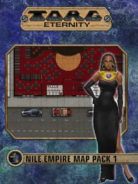Torg Eternity: Nile Empire Map Pack 1