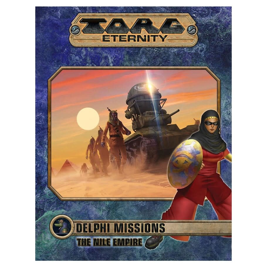 Torg Eternity: Delphi Missions - The Nile Empire