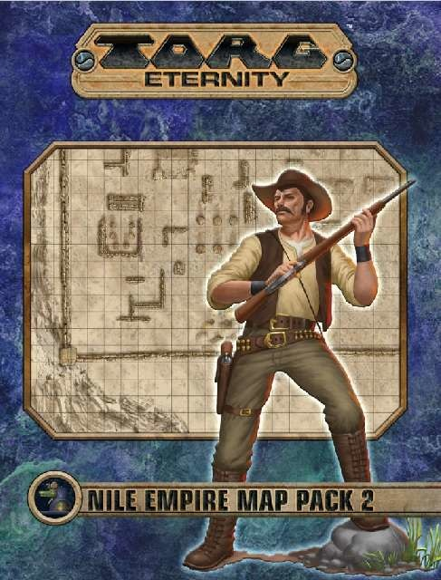 Torg Eternity: Nile Empire Map Pack 2