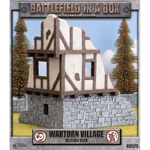 Battlefield in a Box: Wartorn Village Medium Ruins