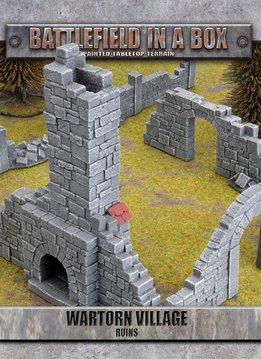 Battlefield in a Box: Wartorn Village Ruins