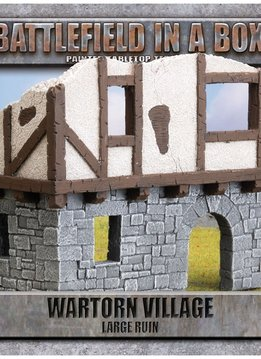 Battlefield in a Box: Wartorn Village Large Ruins