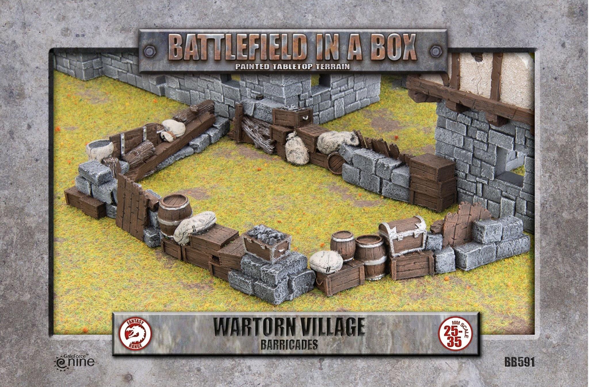 Battlefield in a Box: Wartorn Village Barricades