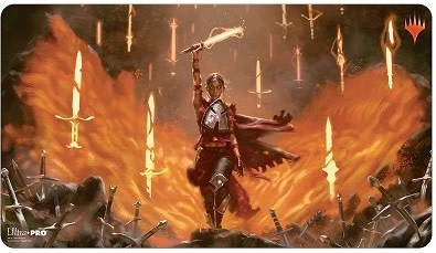 UP PLAYMAT MTG THRONE OF ELDRAINE V6
