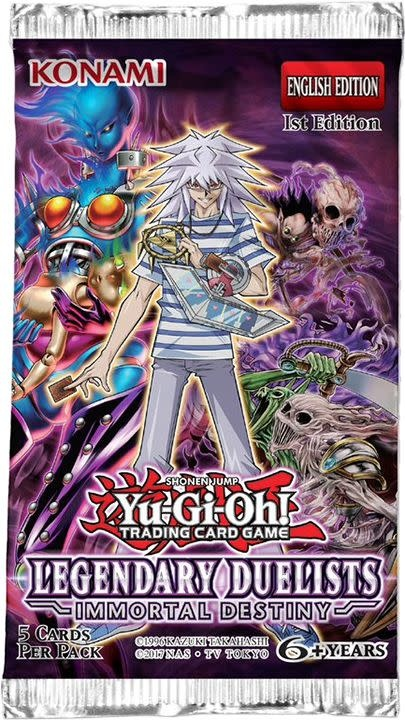 YGO Legendary Duelists: Immortal Destiny Booster