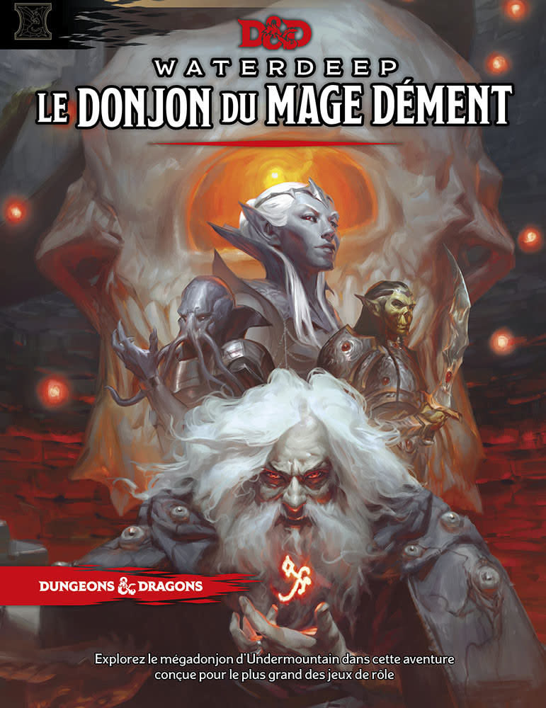 Donjons & Dragons: Waterdeep Le Donjon Du Mage Dement (FR)