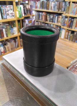 Round Plastic Dice Cup with Lining
