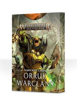 Warscroll Cards: Orruk Warclans (EN)