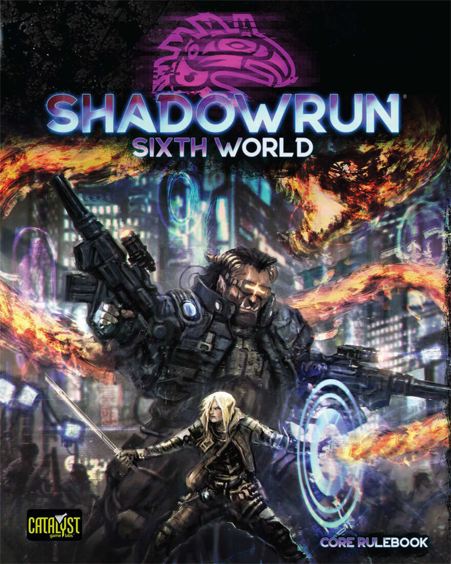 Shadowrun 6th Edition Core Rulebook