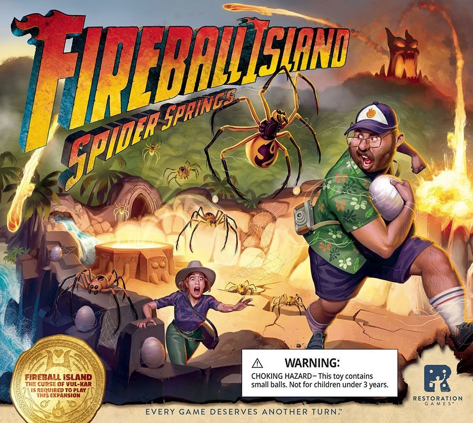 Fireball Island: Spider Springs Exp.