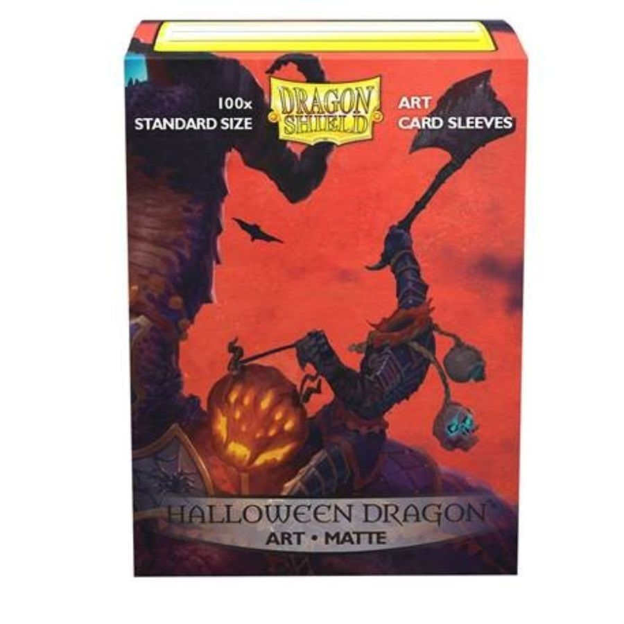 Dragon Shield Sleeves Matte Halloween 100ct