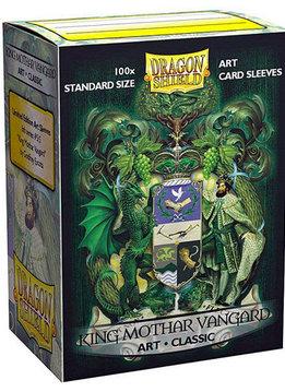 King Mothar Vanguard Coat of Arms Dragon Shield Sleeves Ltd. Ed. Matte Art 100ct