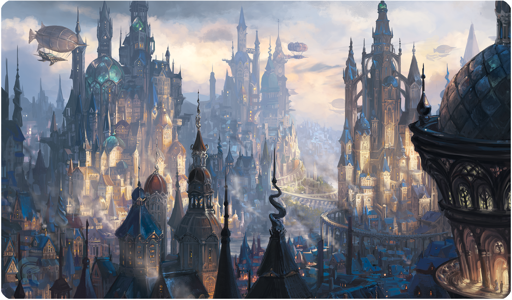 Playmat Veiled Kingdoms: St-Levin