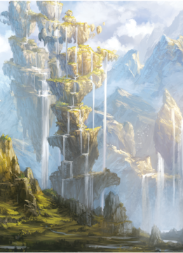Playmat Veiled Kingdoms: Oasis