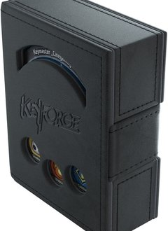 Deck Box Keyforge Deck Book Black